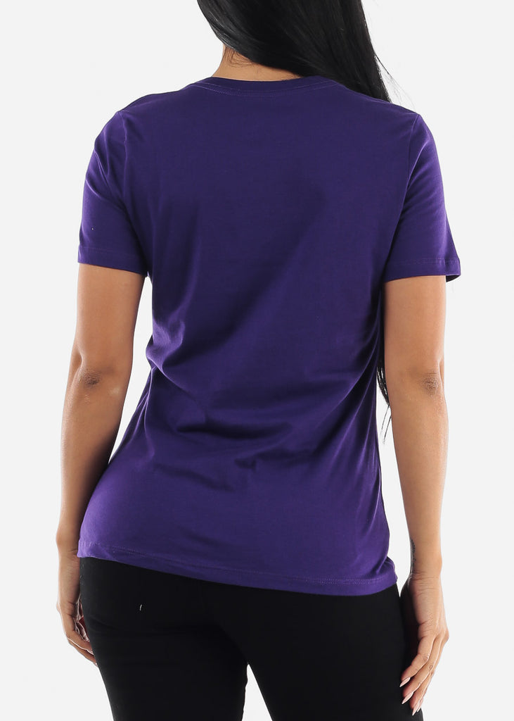 """Sweeter Than Honey"" Purple Top"