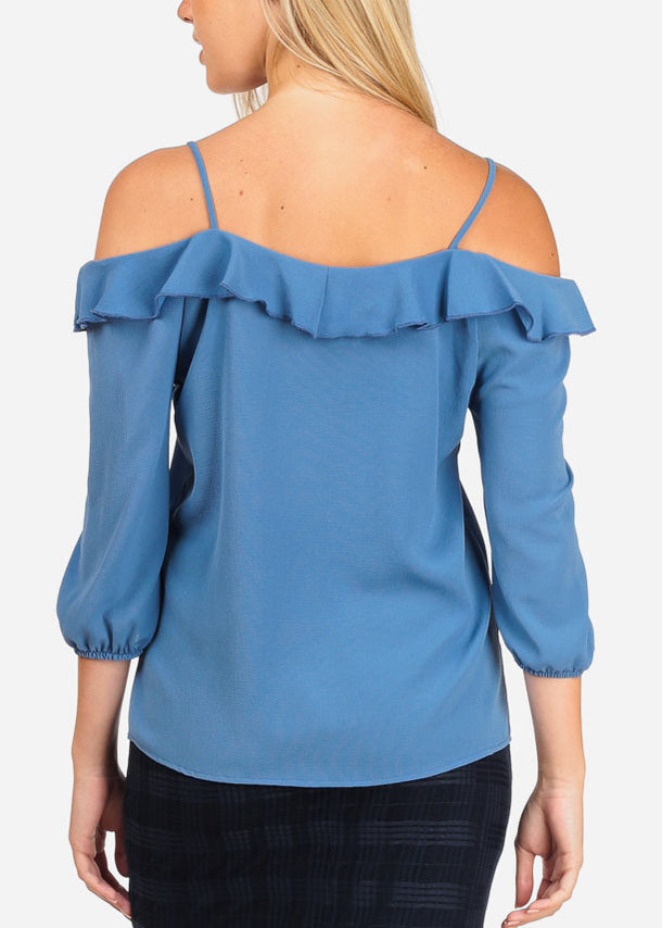 Stylish Sky Blue Blouse