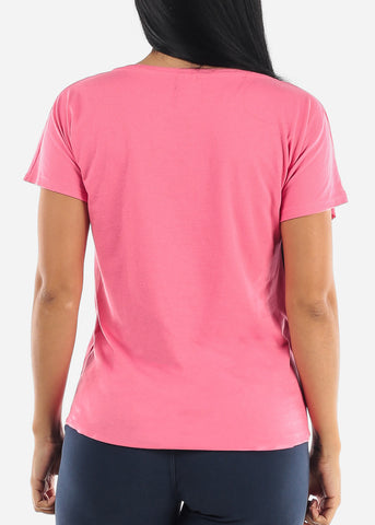 "Pink Graphic T-Shirt ""I'm Very Proud Of Me"""