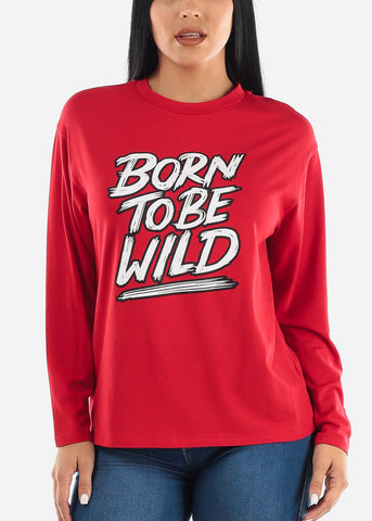 Image of Born To Be Wild Graphic Top