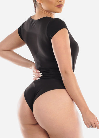 Black Stretchy Bodysuit
