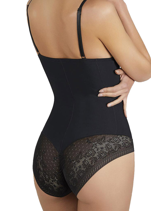 Shaping Back Lace Shapewear Bodysuit