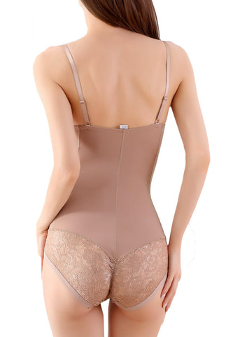 Image of Shapewear Shaping Nude Bodysuit