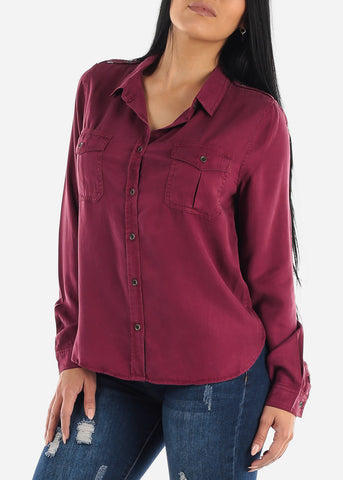 Classic Long Sleeve Button Down Shirt