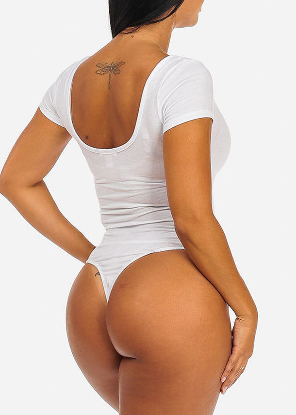 Essential White Bodysuit