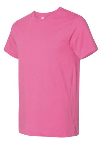 Image of Unisex Bella Charity Pink Tee
