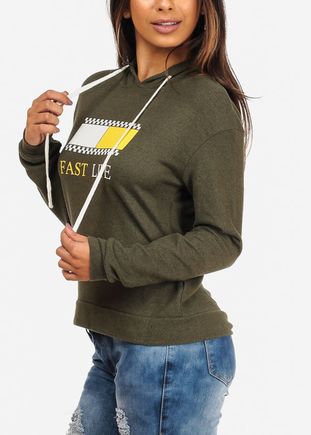 Fast Life Graphic Top