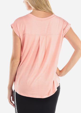 Image of Become Inspired Peach Top