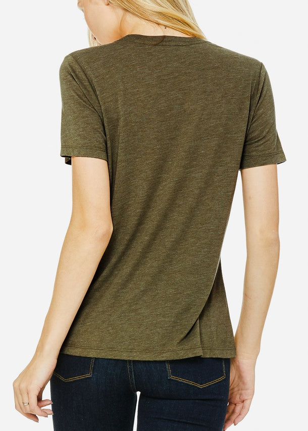 Olive Graphic Tee