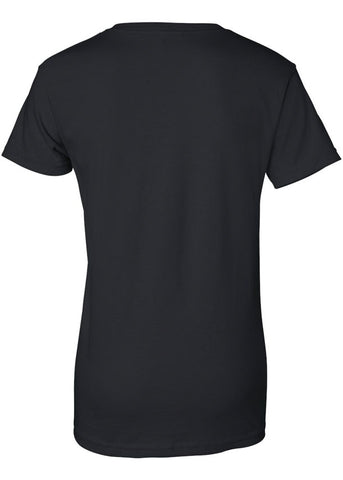 Crew Neck Basic Black Tshirt