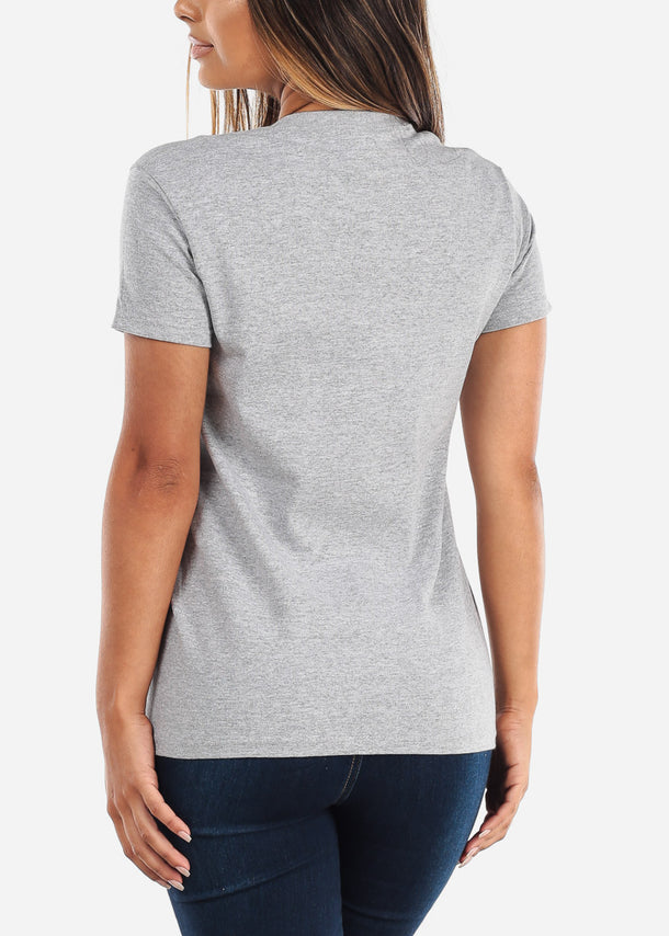 Women's Gildan Ultra Grey Tshirt
