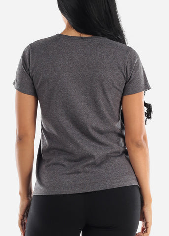 Charcoal Short Sleeve T-Shirt