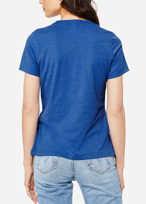 Heather True Royal Relax Fit Tee