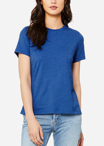Image of Heather True Royal Relax Fit Tee