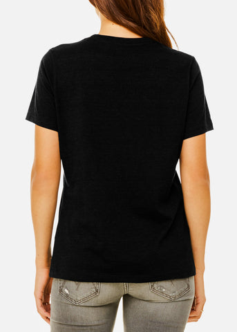 Image of Black Heather Relax Fit Tee