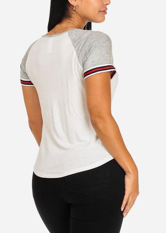 Image of Spoil Me Graphic Top