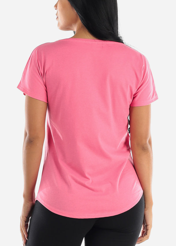 Women's Next Level Dolman Pink Tshirt