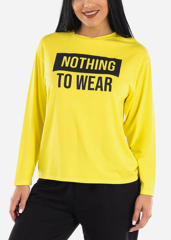 """Nothing to Wear"" Long Sleeve Top"
