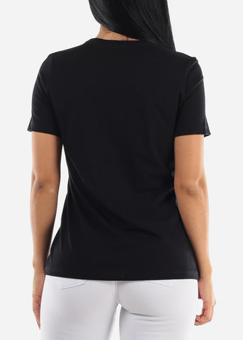 """Dream Wish Do It"" Black Top"
