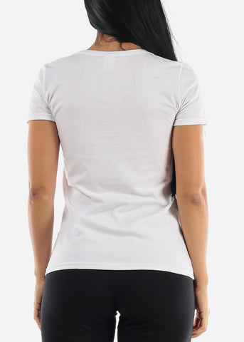 "Image of ""Life Is Beautiful"" White Top"