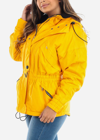 Yellow Insulated Winter Jacket