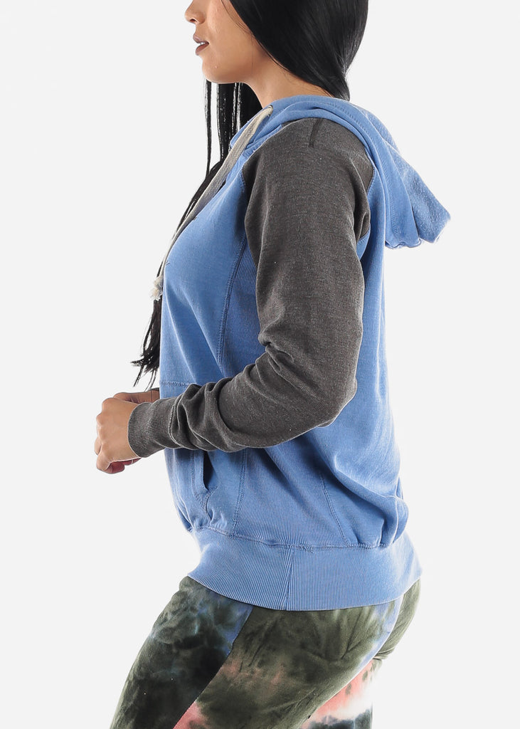 """The Best Is Yet To Come"" Blue Hoodie"