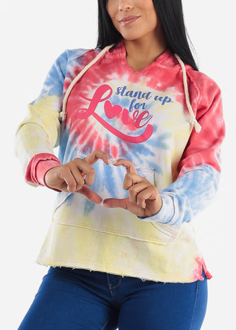 """Stand Up For Love"" Rainbow Sweater"
