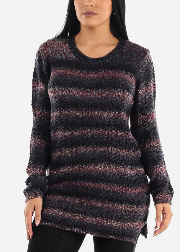 Cozy Knit Comfy Slip On Sweater
