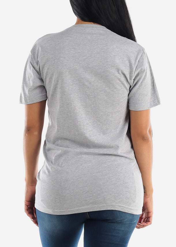 Unisex Premium Heather Grey Tshirt