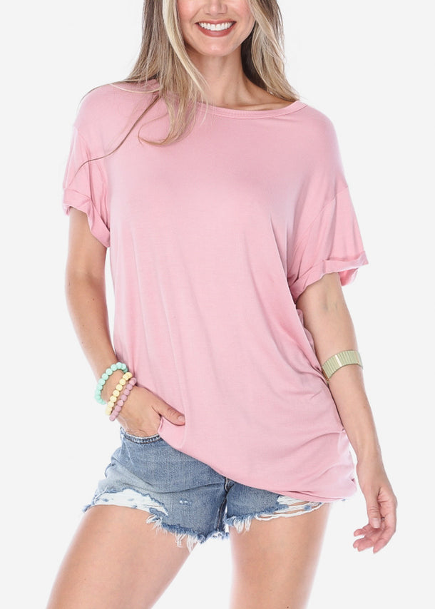 Oversized Rose Top