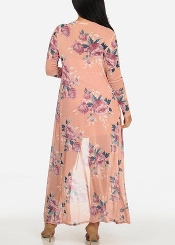 Two Layer Floral Dress