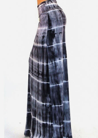 Image of Tie Dye Grey Maxi Skirt