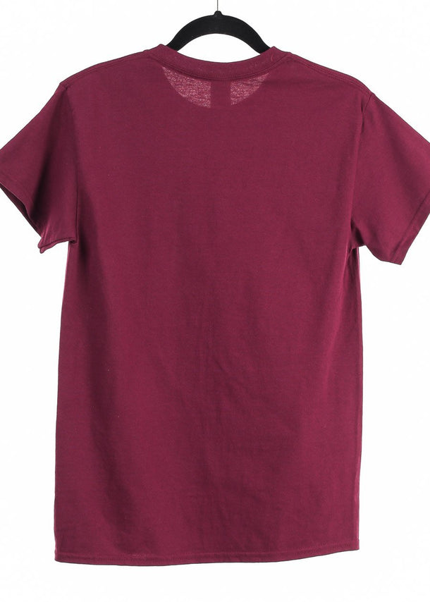 Oversized Burgundy Graphic Tee