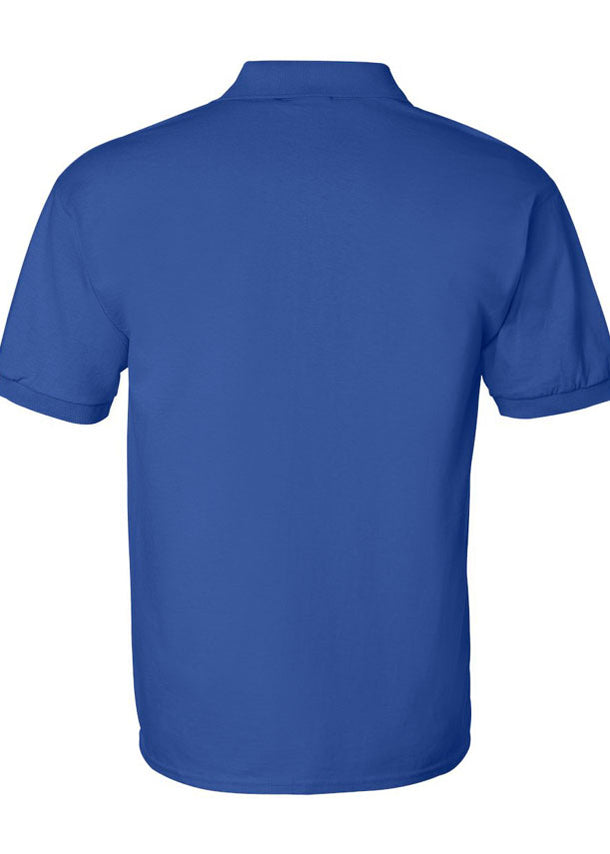 Men's Gildan Royal Blue Polo
