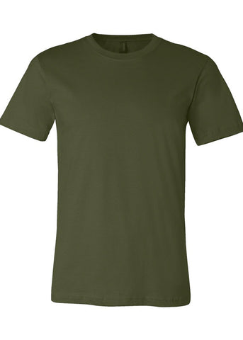 Image of Unisex Bella Olive Jersey Tee