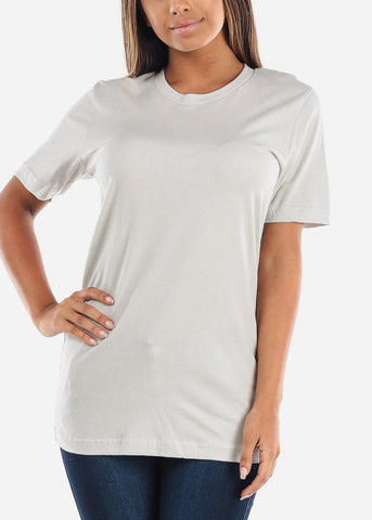 Image of Cheap Silver Jersey Tee