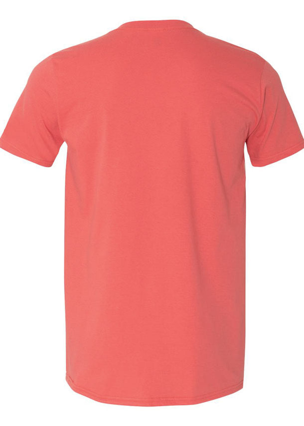 Men's Softstyle Coral Tshirt