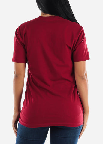"Image of Oversized Red Graphic T-Shirt ""Sweet Like Honey"""
