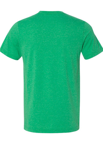 Image of Unisex Bella Heather Green Tee
