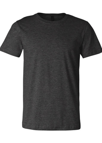 Image of Unisex Bella Dark Grey HeatherTee