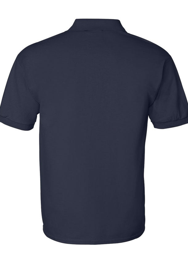 Men's Gildan Ultra Navy Polo