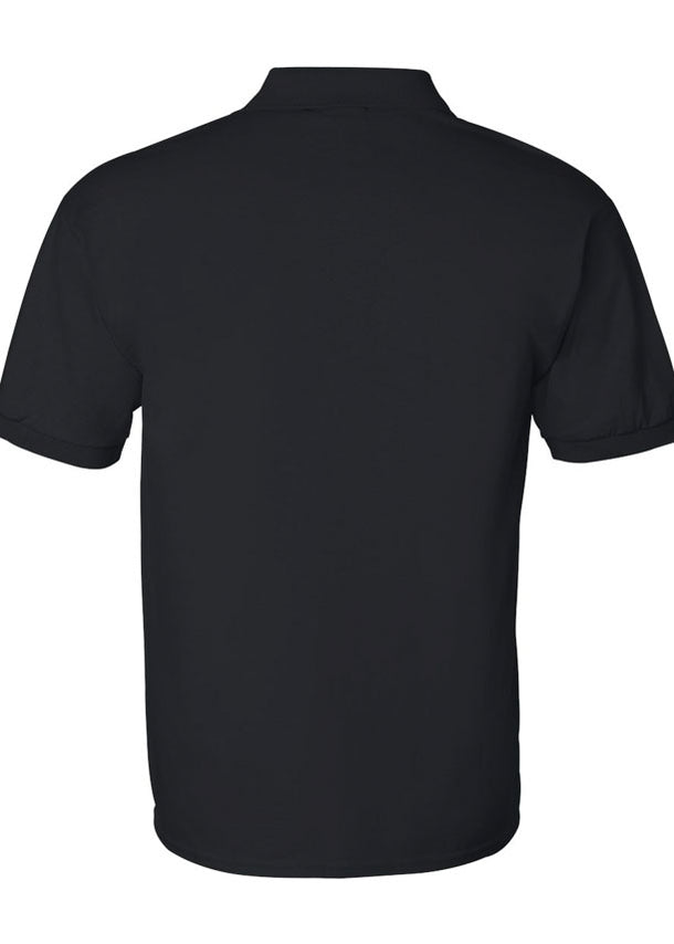 Men's Gildan Ultra Black Polo