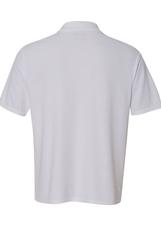 Men's Gildan White Performance Polo