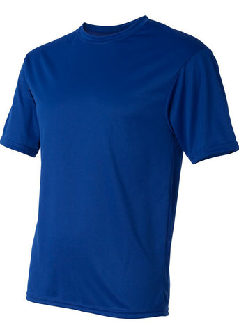 Men C2 Sport Lightweight Performance 100% Polyester Royal Blue Tshirt