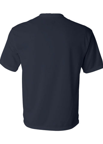 Image of Men's C2 Sport Lightweight Performance 100% Polyester Navy Tshirt