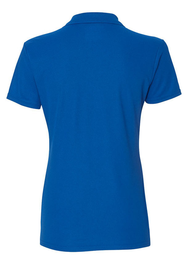 Women's Gildan Royal Blue Polo Shirt