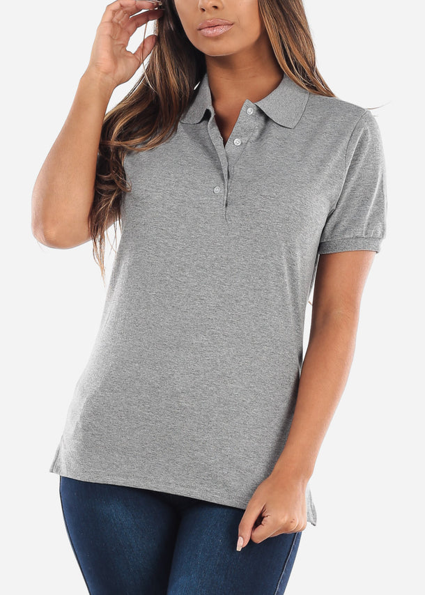 Women's Jerzees Oxford Polo Shirt