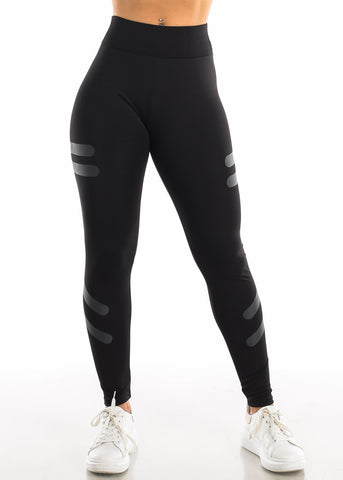 Activewear Black High Waisted Leggings