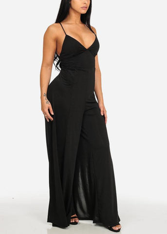 Night Out Black Jumpsuit