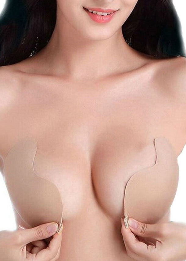 Stick On Nude Bra